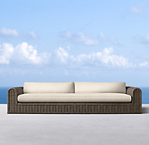 "130"" Sorrento Sofa Cushions"