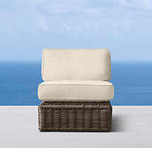 Sorrento Armless Chair Cushions