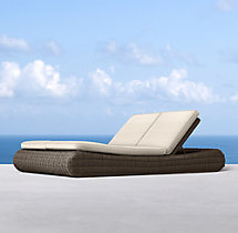Sorrento Double Chaise Cushions