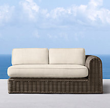Sorrento Two-Seat Left/Right-Arm Sofa Cushions