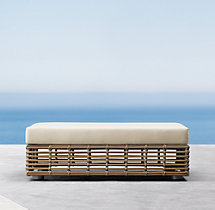 Luna Daybed Coffee Table Ottoman Cushions