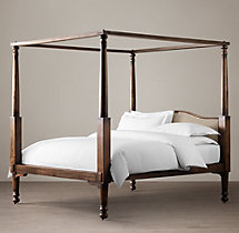 Early 19th C. American Four-Poster Bed