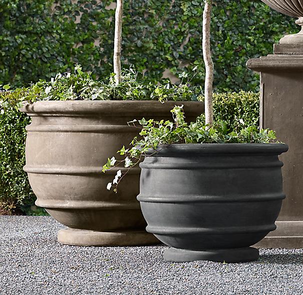 Marcella Cast Stone Planter