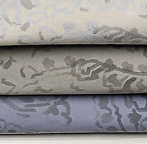 Garment-Dyed Percale Paisley Swatch