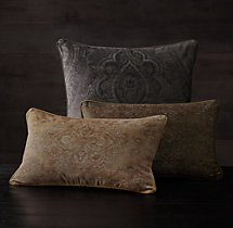 Velvet Medallion Pillow Cover