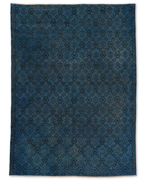 "Vintage Color-Wash Rug 5'2"" X 7'2"""