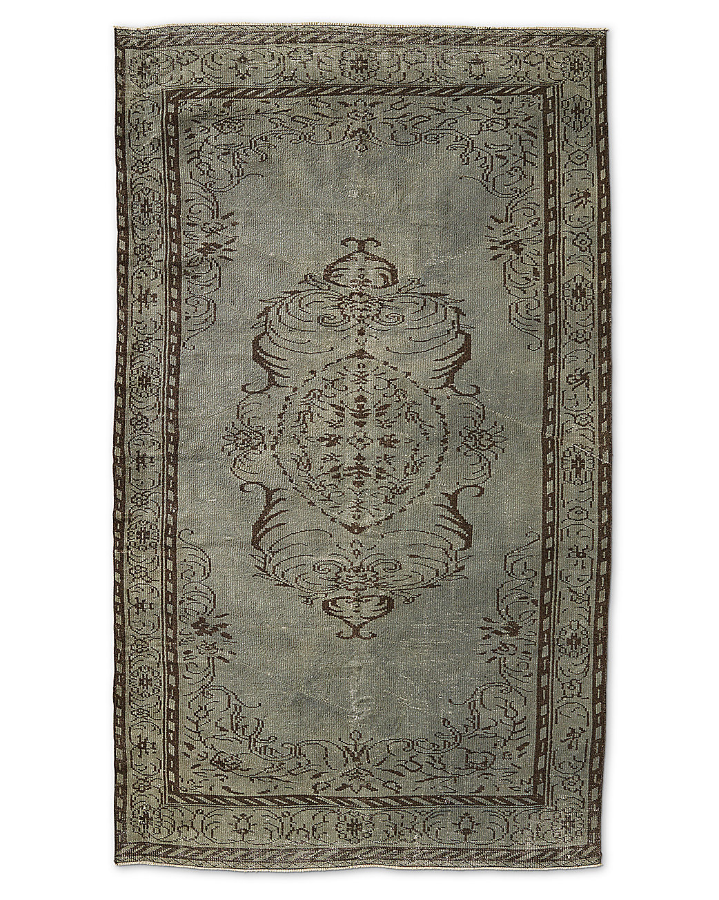 "Vintage Color-Wash Rug 5'5"" X 9'2"""