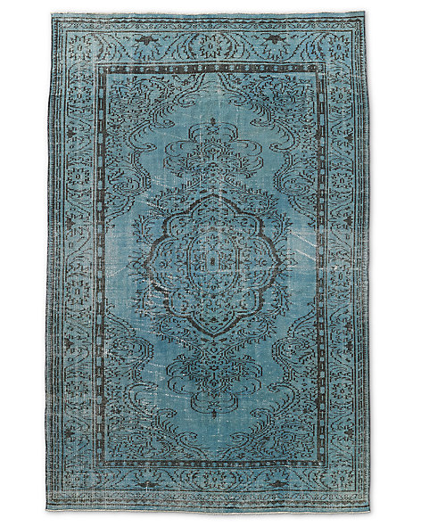 "Vintage Color-Wash Rug 6'0"" X 9'2"""