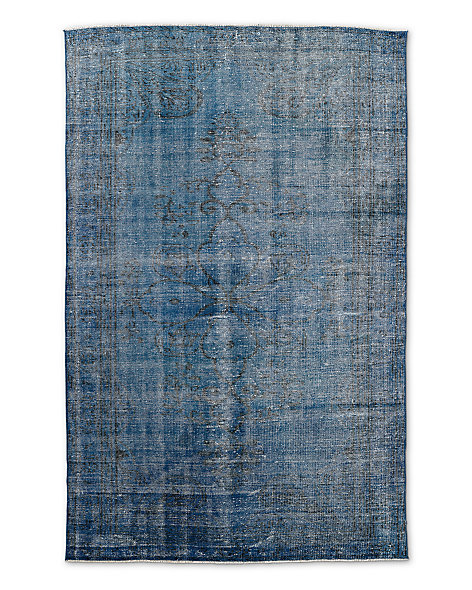 "Vintage Color-Wash Rug 5'2"" X 8'1"""