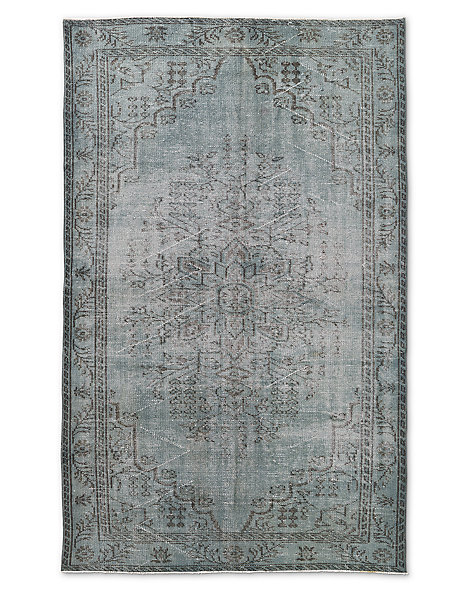 "Vintage Color-Wash Rug 5'4"" X 8'7"""
