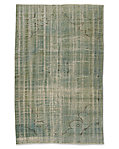 "Vintage Color-Wash Rug 5'0"" X 8'3"""