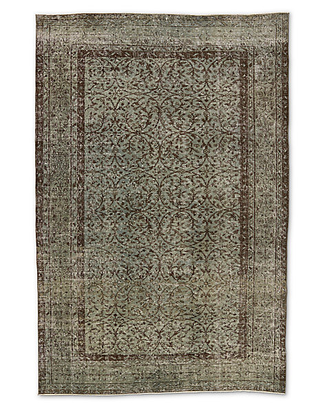 "Vintage Color-Wash Rug 5'4"" X 8'0"""