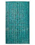 "Vintage Color-Wash Rug 5'4"" X 9'5"""
