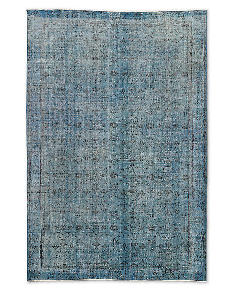 "Vintage Color-Wash Rug 5'7"" X 8'5"""