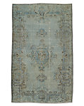"Vintage Color-Wash Rug 5'3"" X 8'6"""