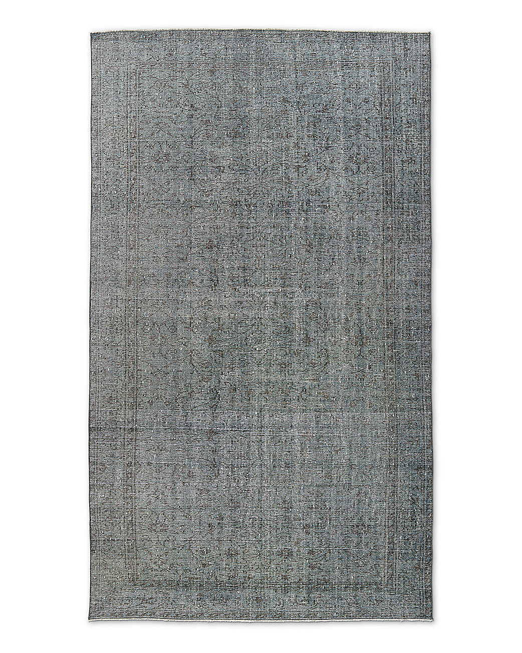 "Vintage Color-Wash Rug 5'9"" X 9'10"""