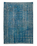 "Vintage Color-Wash Rug 6'4"" X 8'11"""
