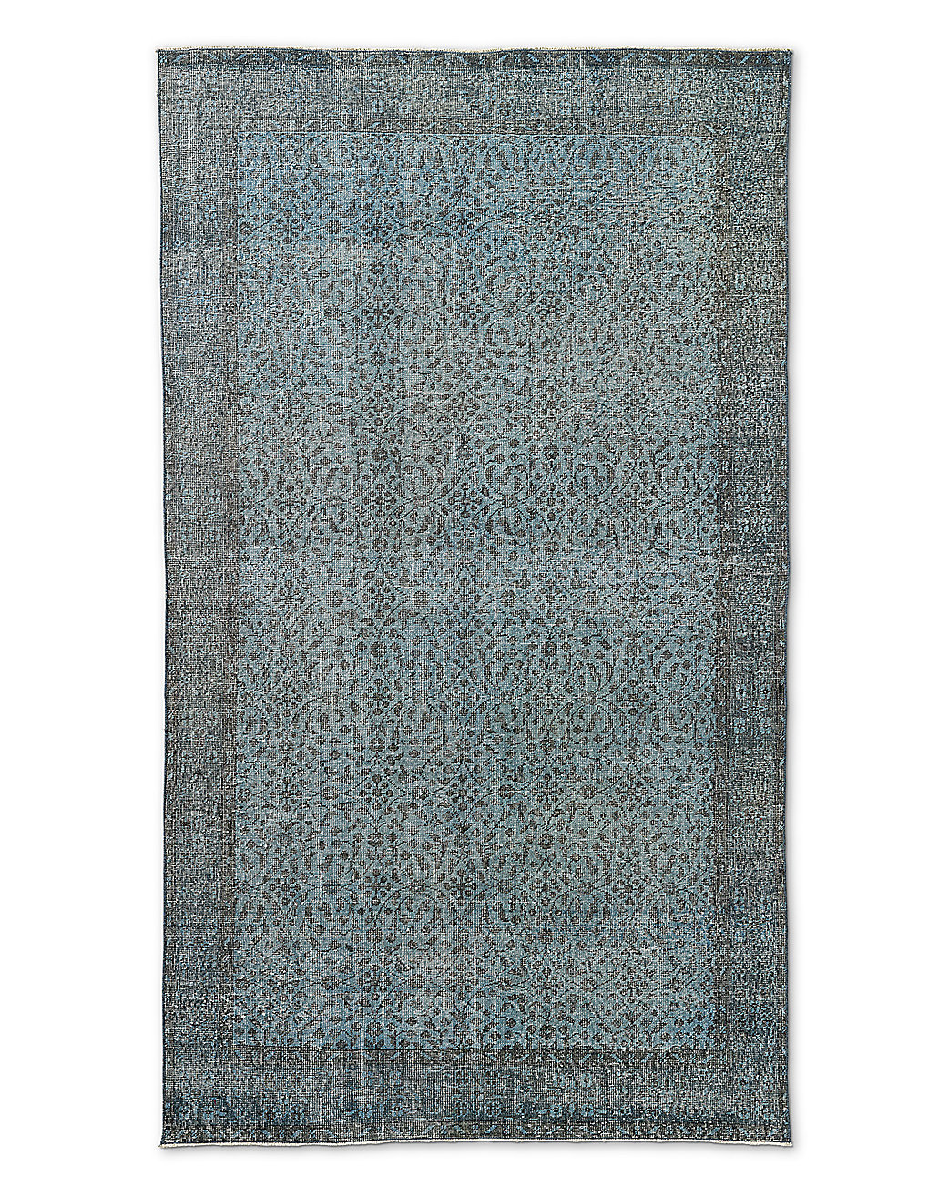 "Vintage Color-Wash Rug 5'2"" X 9'3"""