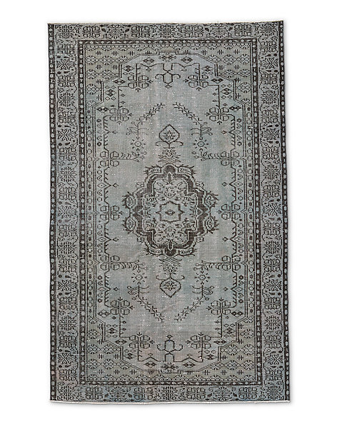 "Vintage Color-Wash Rug 4'9"" X 7'9"""