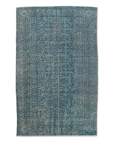 "Vintage Color-Wash Rug 5'10"" X 9'4"""