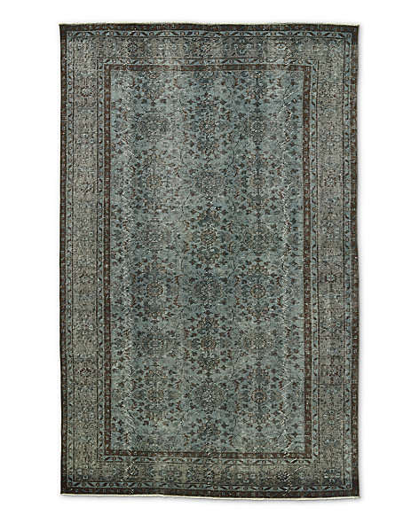 "Vintage Color-Wash Rug 5'7"" X 9'0"""