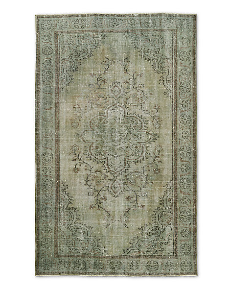 "Vintage Color-Wash Rug 5'6"" X 9'1"""