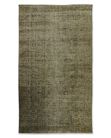 "Vintage Color-Wash Rug 4'10"" X 8'7"""