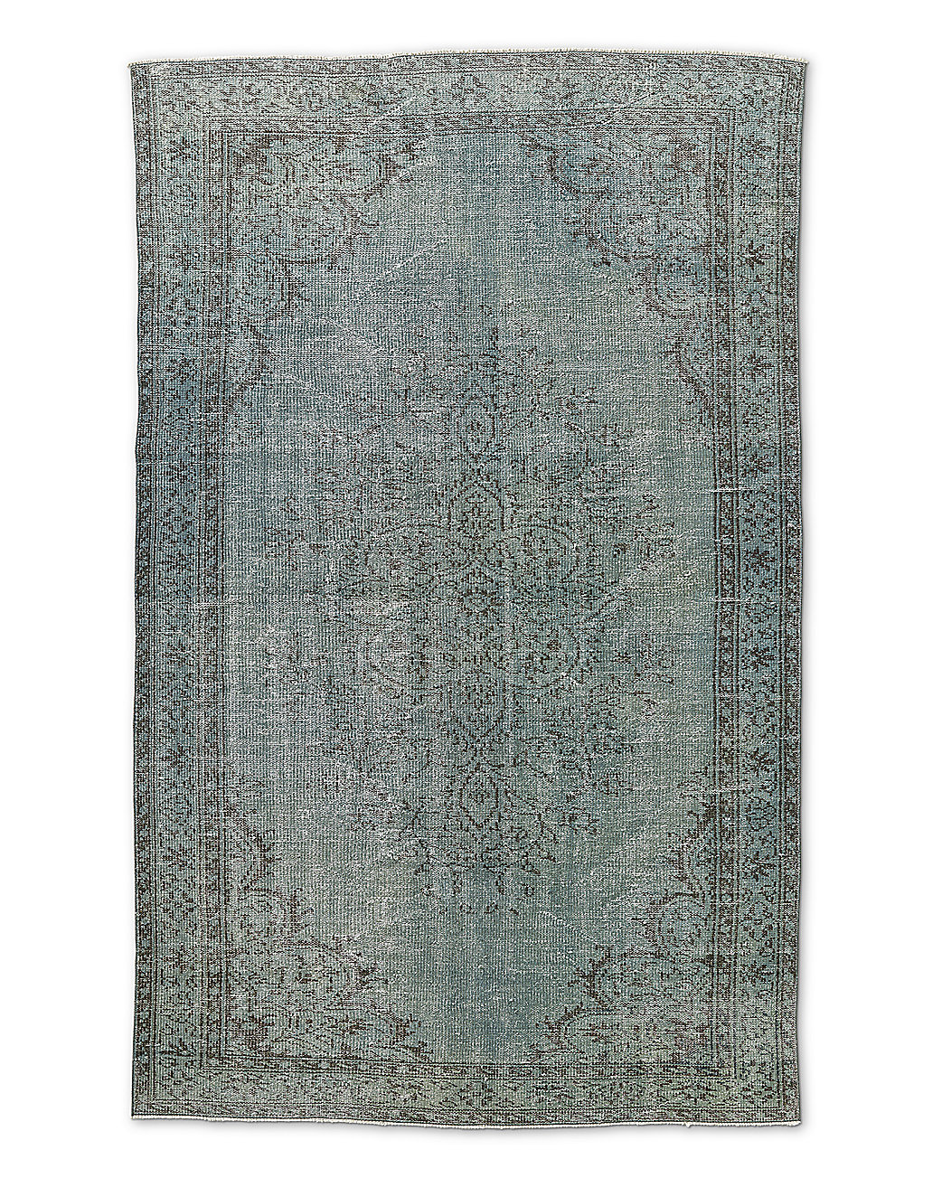 "Vintage Color-Wash Rug 5'5"" X 8'8"""