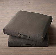 Floor Pillows Restoration Hardware : Custom Heavyweight Belgian Linen Floor Pillow