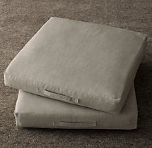 Custom Perennials® Classic Linen Weave Floor Pillow