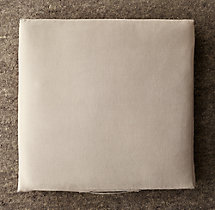 Custom Brushed Linen Cotton Floor Pillow Cover
