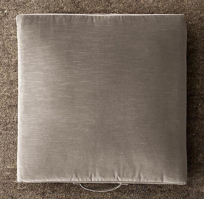 Custom Vintage Velvet Floor Pillow Cover
