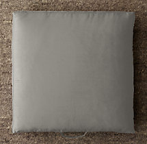 Custom Thai Silk Solid Floor Pillow