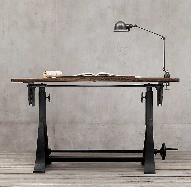 American trestle drafting table 1910 american trestle drafting table malvernweather Image collections