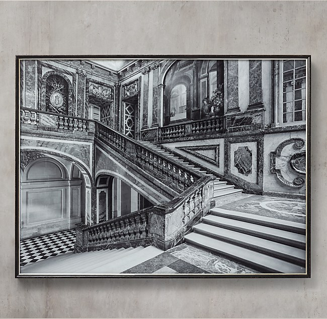 William Curtis Rolf Versailles Queen S Staircase