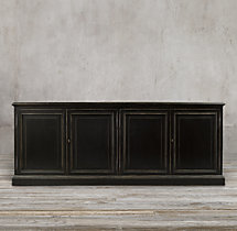 19th C. English Notary Sideboard