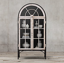 French Conservatory Double-Door Cabinet