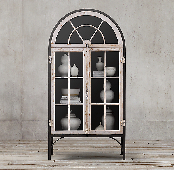 French Conservatory Double Door Cabinet