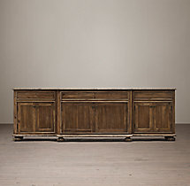 "French Empire Panel 100"" Media Console"