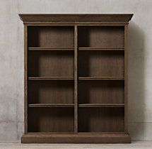 French Panel Double Shelving