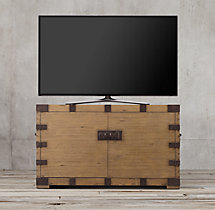 "Heirloom Silver-Chest 54"" Media Console"