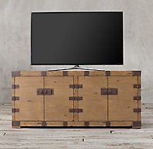 "Heirloom Silver-Chest 72"" Media Console"