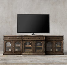 Montpellier Glass Media Console