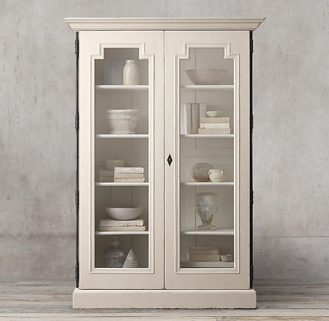Montpellier Glass Double Door Cabinet