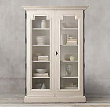 Montpellier Glass Double-Door Cabinet