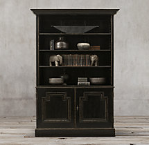 Montpellier Panel Double-Door Sideboard & Open Hutch