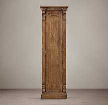 St. James Panel Single-Door Cabinet