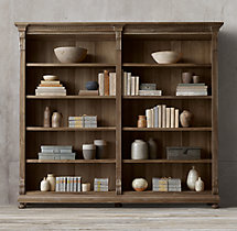 St. James Panel Double Shelving