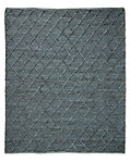 Braided Diamante Rug - Marine