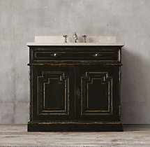 Montpellier Single Vanity Sink Base